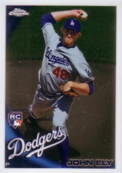 2010 Topps Chrome John Ely Rookie Card