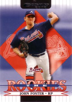 2002 Donruss the Rookies John Foster Rookie Card