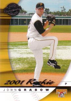 2001 Donruss Class of 2001 John Grabow Rookie Card