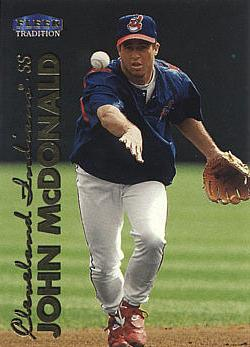 1999 Fleer Update John McDonald Rookie Card