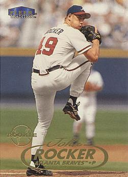 1998 Fleer Update John Rocker Rookie Card
