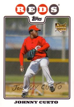 Johnny Cueto Rookie Card