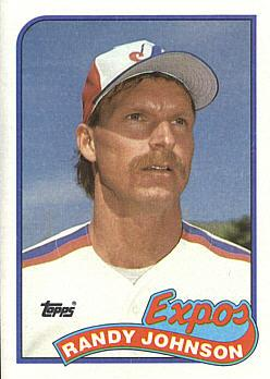 1989 Topps Randy Johnson rookie card