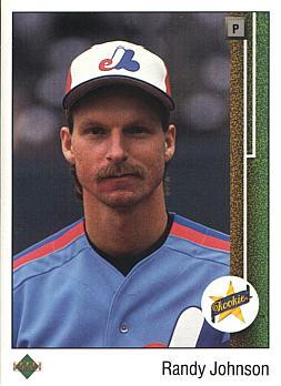 Randy Johnson Upper Deck Rookie Card