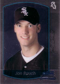 2000 Bowman Chrome Jon Rauch Rookie Card