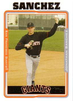Jonathan Sanchez Rookie Card