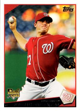 2009 Topps Update Jordan Zimmerman Rookie Card
