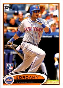 2012 Topps Update Jordany Valdespin Rookie Card