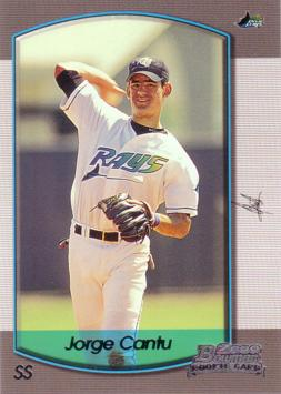 2000 Bowman Draft Picks Jorge Cantu Rookie Card