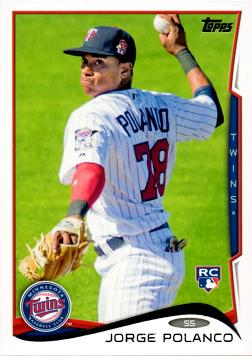 Jorge Polanco Rookie Card