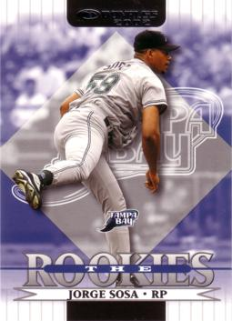 2002 Donruss the Rookies Jorge Sosa Rookie Card