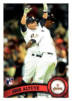 Jose Altuve Rookie Card