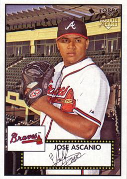 2007 Topps 52 Jose Ascanio Rookie Card