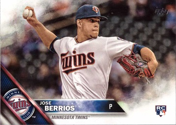 Jose Berrios Rookie Card
