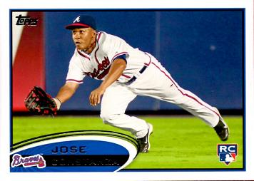 2012 Topps Jose Constanza Rookie Card