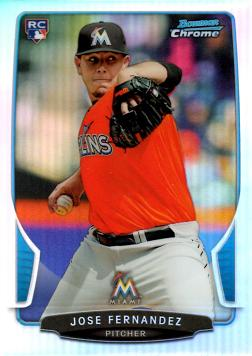 Jose Fernandez Bowman Chrome Refractor Rookie Card
