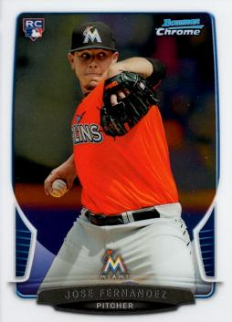 Jose Fernandez Bowman Chrome Rookie Card