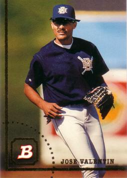 1994 Bowman Jose Valentin Rookie Card