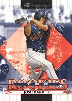 2002 Donruss the Rookies Josh Bard Rookie Card