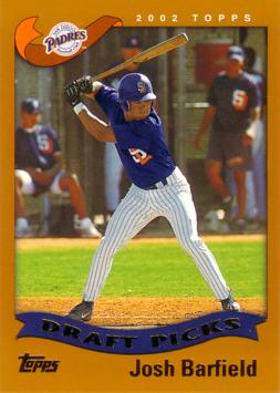 2002 Topps Josh Barfield Rookie Card