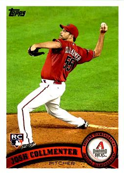Josh Collmenter Rookie Card