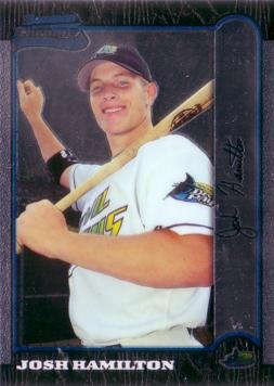 1999 Bowman Chrome Josh Hamilton Rookie Card