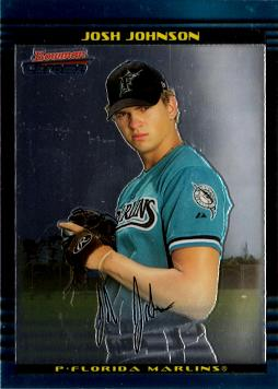 Josh Johnson Bowman Chrome Rookie Card
