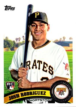 2011 Topps Josh Rodriguez Rookie Card