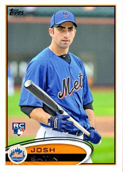 2012 Topps Josh Satin Rookie Card