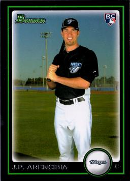 J.P. Arencibia Rookie Card