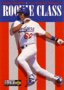 1996 Collector's Choice Juan Castro Rookie Card