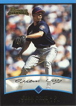 2001 Bowman Draft Picks Juan Cruz Rookie Card