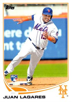 Juan Lagares Rookie Card