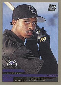 2000 Topps Traded Juan Pierre Rookie Card