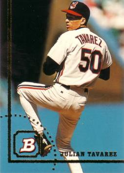 1994 Bowman Julian Tavarez Rookie Card