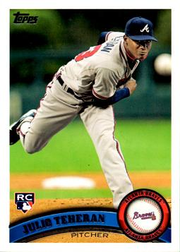 Julio Teheran Rookie Card