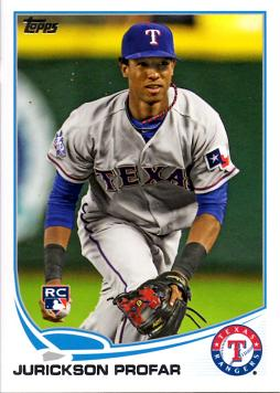 2013 Topps Baseball Jurickson Profar Rookie Card