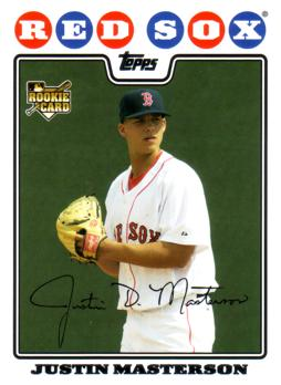 Justin Masterson Rookie Card
