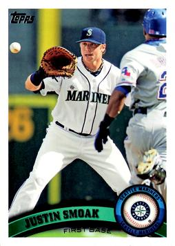 Justin Smoak Rookie Card