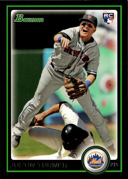 2010 Bowman Draft Picks Justin Turner Rookie Card