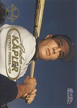 Gabe Kapler Rookie Card