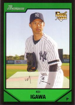 2007 Bowman Kei Igawa Rookie Card