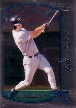 2000 Bowman Chrome Keith Ginter Rookie Card