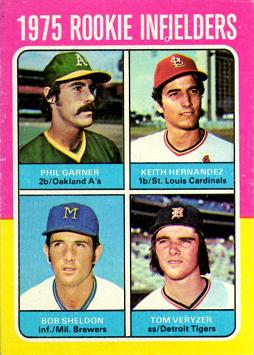 1975 Topps Baseball Keith Hernandez Rookie Card