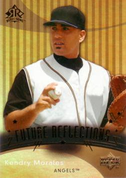 2005 Upper Deck Reflections Kendry Morales Rookie Card