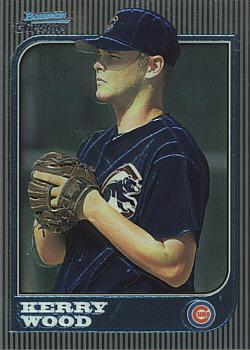 Kerry Wood 1997 Bowman Chrome Rookie Card
