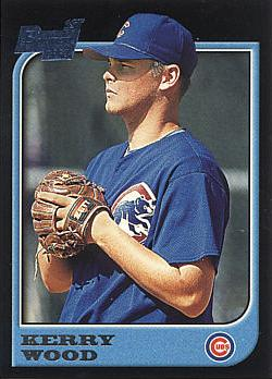 1997 Bowman Kerry Wood Rookie Card