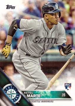 Ketel Marte Rookie Card