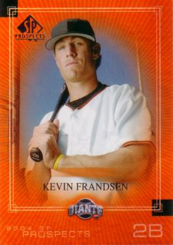 2004 SP Prospects Kevin Frandsen Rookie Card