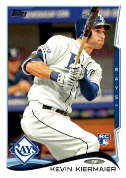 Kevin Kiermaier Rookie Card